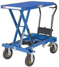 Heavy Duty Rough Terrain Scissor Carts